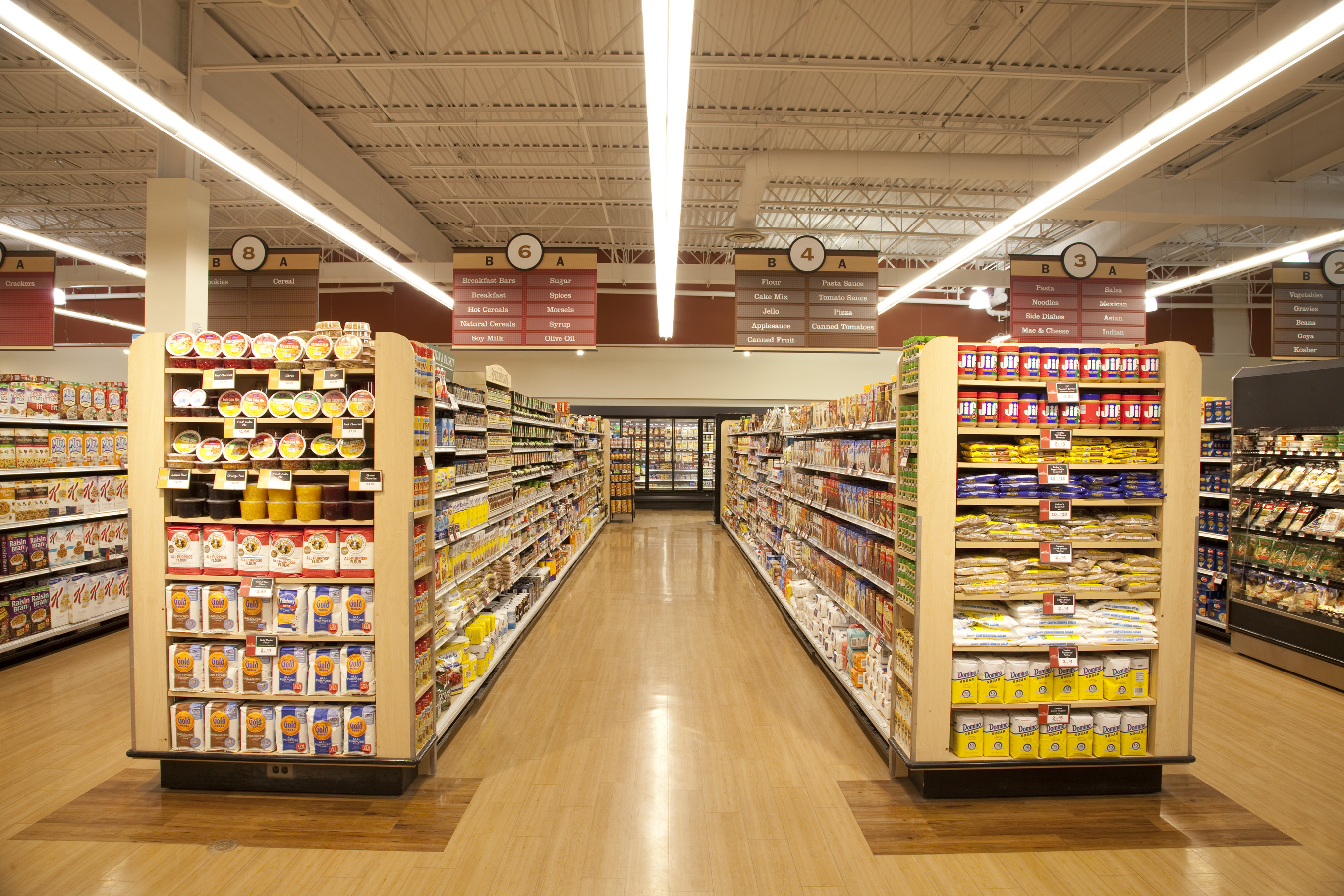 Grocer Finds Ge S New Led Fixture Is The Answer For Lighting That Lasts Ge Lighting North