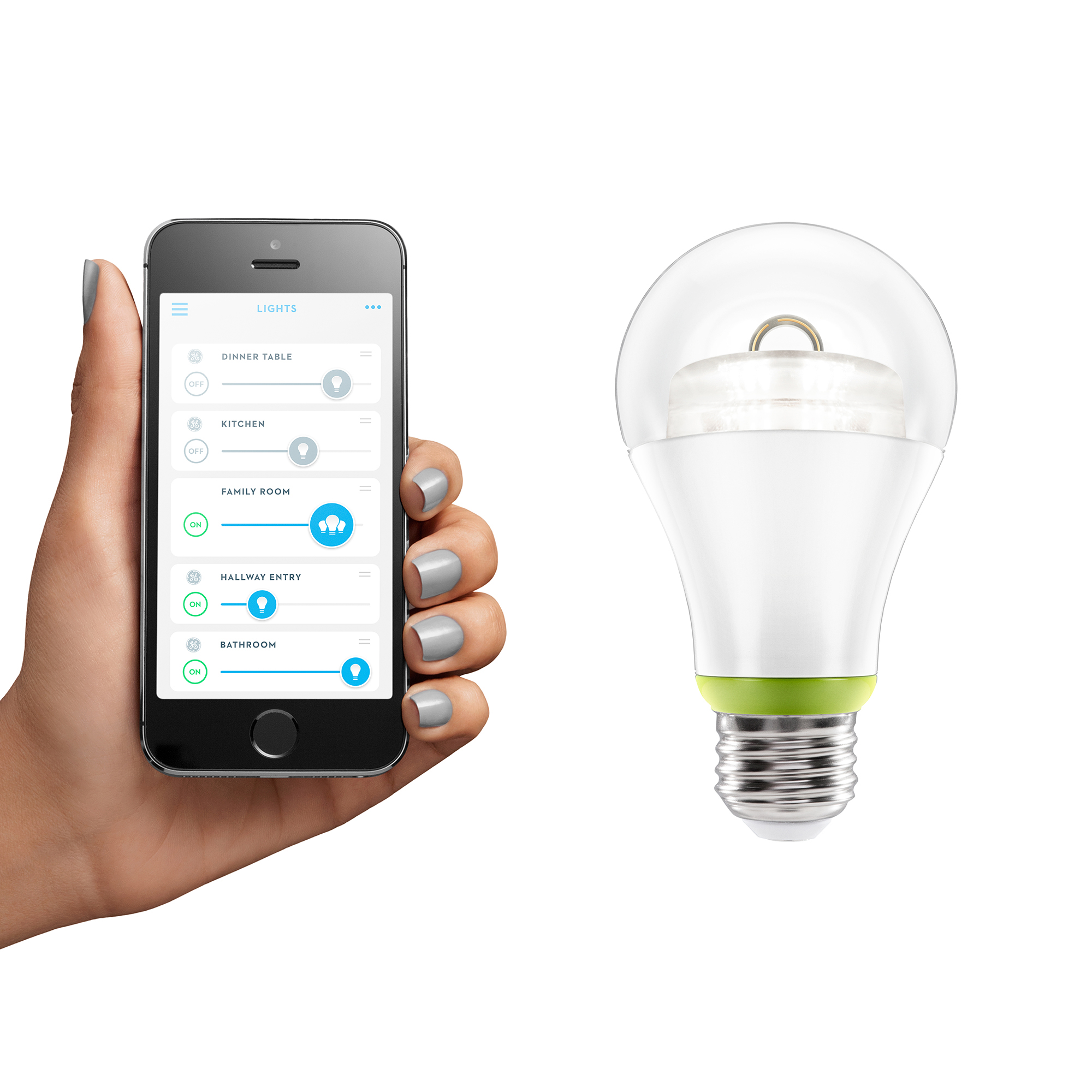 GE Link Connected LED 60-watt Replacement (A19)  sc 1 st  GE Lighting North America News & GE Announces Link Connected LED an Easy u0026 Affordable Way to Light ... azcodes.com