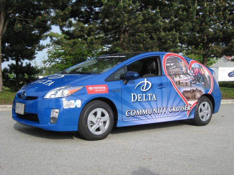 Delta Community Cruiser Tour - 2010 Toyota Prius 2