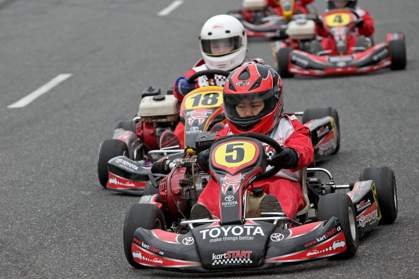 Kartstart provides 133 youth initial driving experience for Go kart interieur quebec