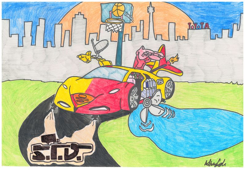 The S.I.D. by Adrian (age 15)