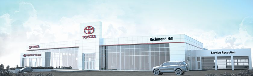 Richmond Hill Toyota breaks ground on construction of ...