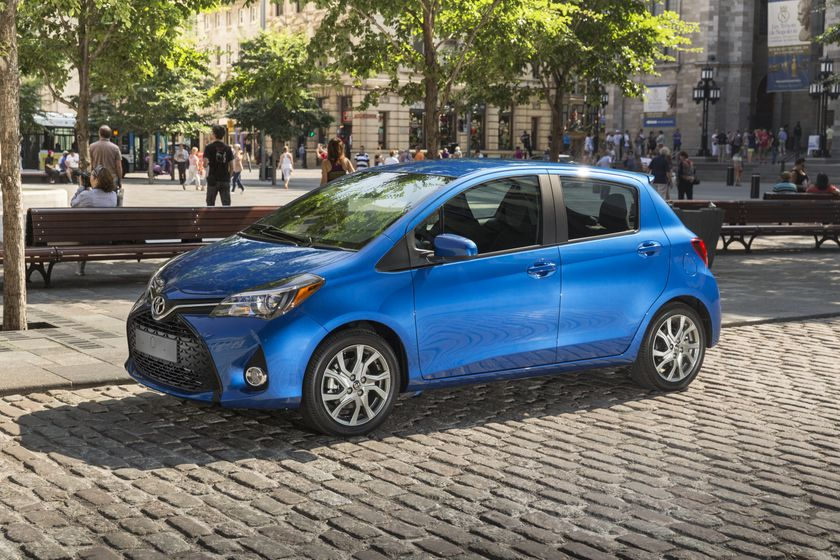 No Stripped Down Subcompacts Here The 2015 Toyota Yaris