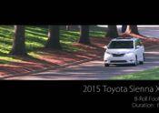 2015 Toyota Sienna B-Roll