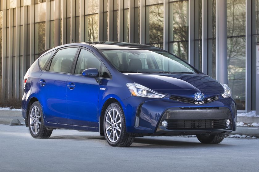 Restyled 2015 Toyota Prius v Posts Big Numbers in ...