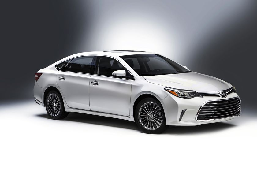 First Look In The U201cSecond City:u201d The Refreshed 2016 Toyota Avalon Premium  Mid Size Sedan