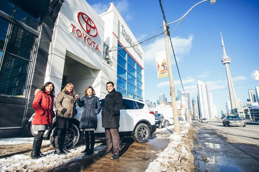 University Of Toyota >> Toyota Canada Rav4 Donation Boosts Auto Safety Research At
