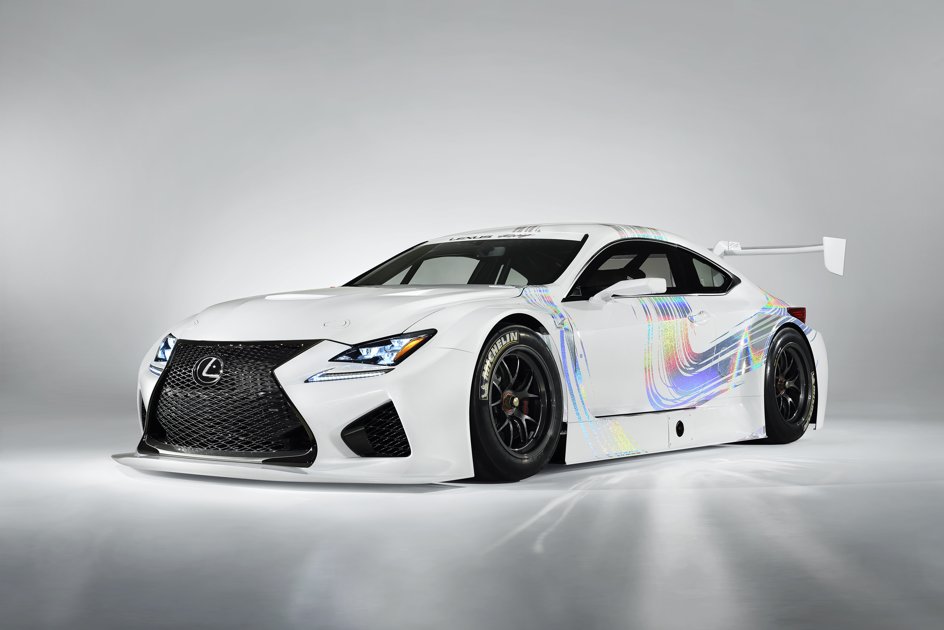 Lexus RC F GT3 concept car is leading Lexus' charge into global racing