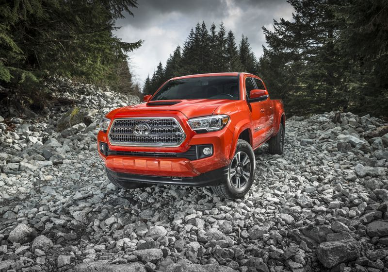 Hungry For Adventure The All New 2016 Toyota Tacoma