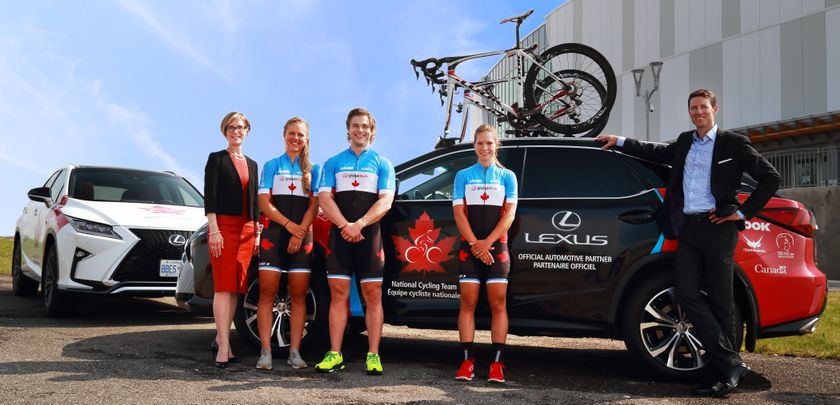 Lexus Canada_Cycling Canada Partnership