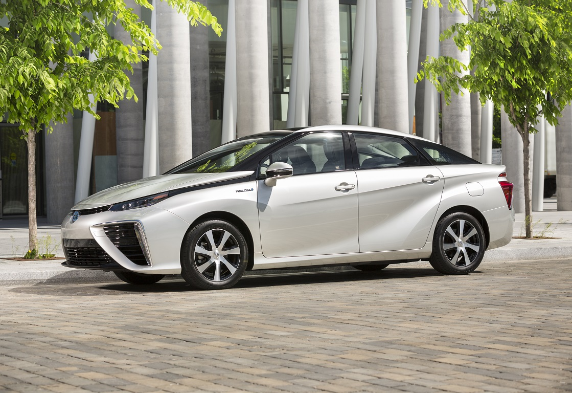 On This Week's Menu From Toyota; Fun-to-drive Electric