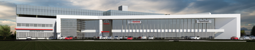 Open Road Lexus Richmond >> OpenRoad Toyota Breaks Ground On New Dealership in ...