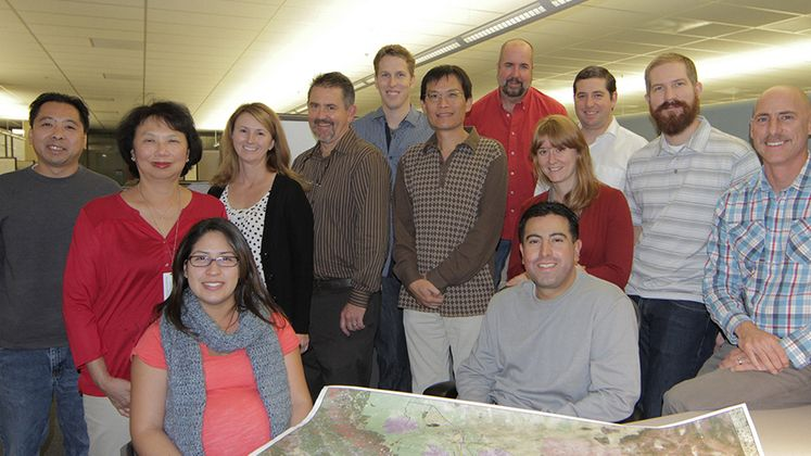 Geographic Information Systems specialists
