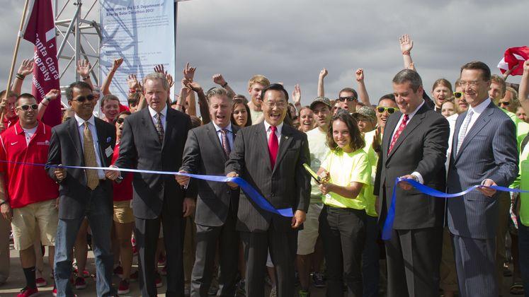 Solar Decathlon Opening Day