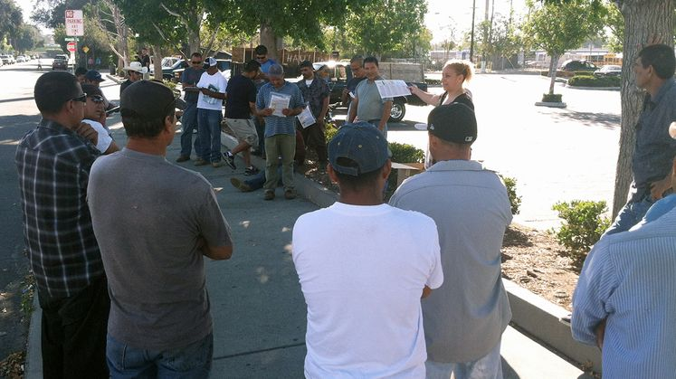 Helping Create Electrical Safety Awareness for Day Laborers in Los Angeles