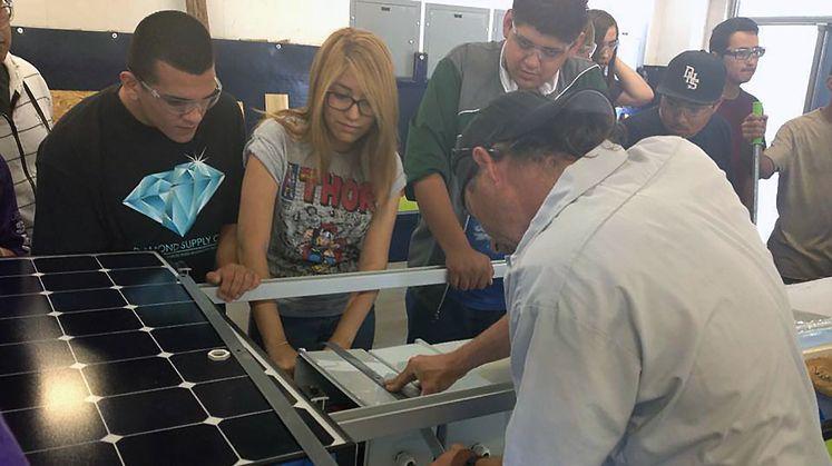 Edison International Grants Support Renewable Energy Program at Desert Hot Springs High School