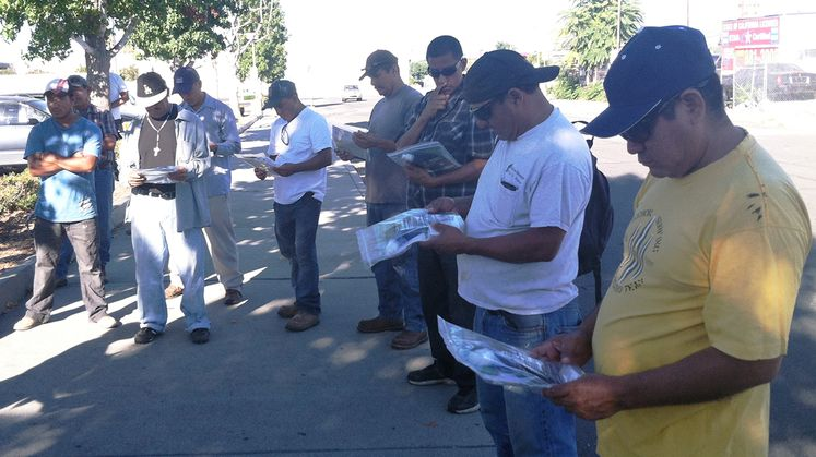 Day Laborer Safety Outreach