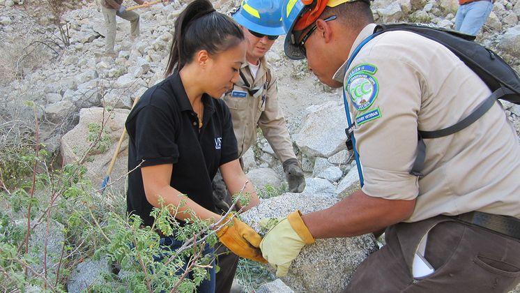 California Conservation Corps Veterans Program