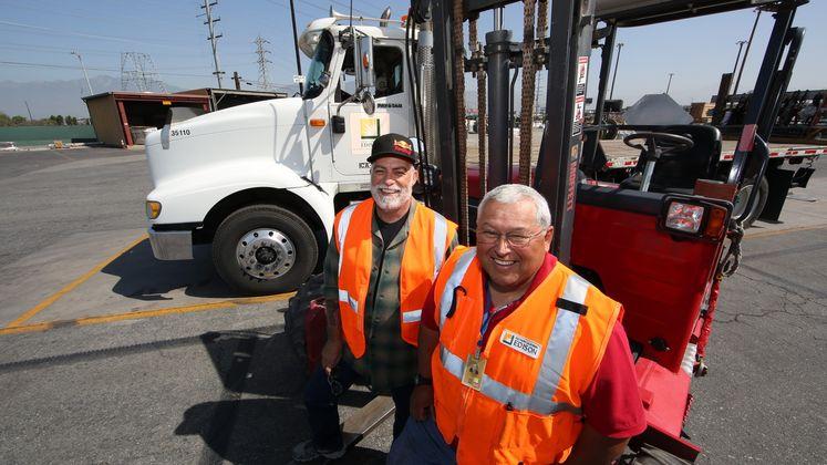 Material Transport team