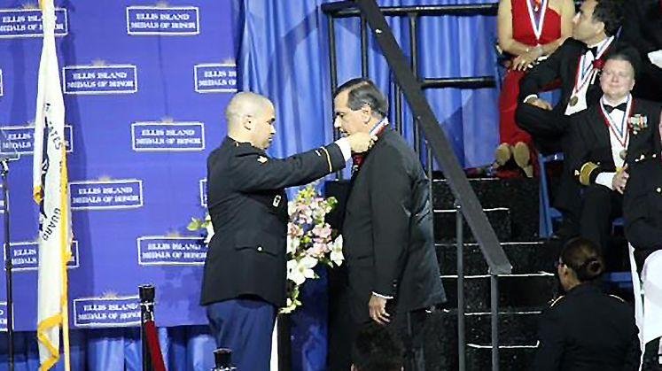 Gaddi Vasquez - Ellis Island Medal of Honor