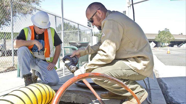 Infrastructure upgrades in Santa Ana