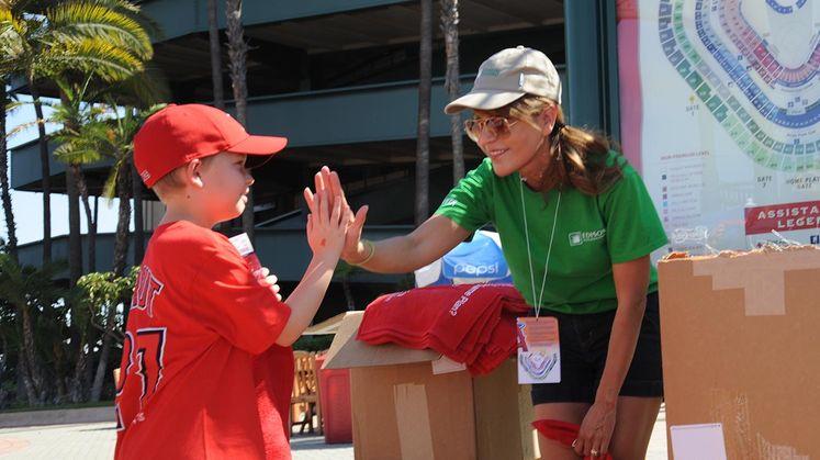 Edison International Marks 2014 Prepare SoCal Day at Angel Stadium