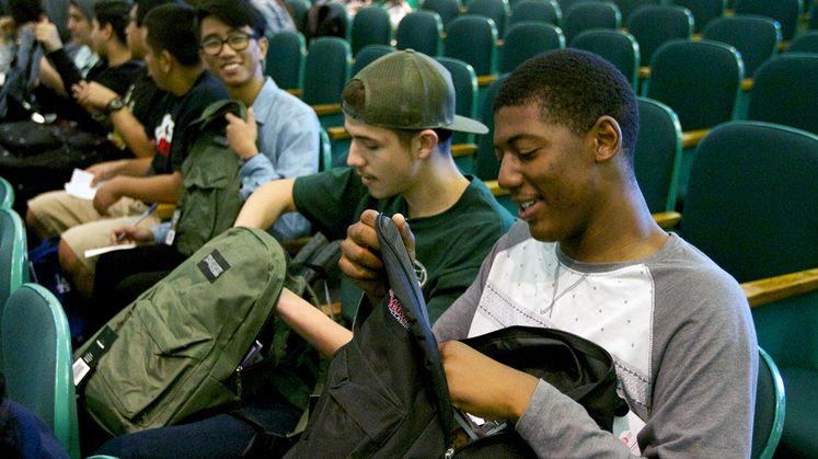 Inglewood Backpack Giveaways