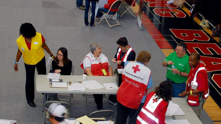 American Red Cross Drill