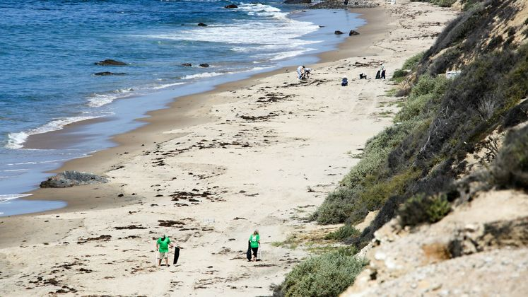 Crystal Cove Park Gets a Cleanup for Earth Day
