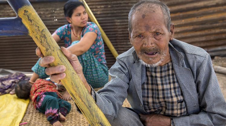 Nepal earthquake aftershocks