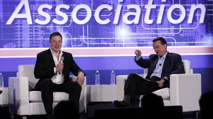 Q&A Elon Musk and Ted Craver
