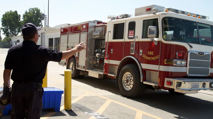 San Onofre Fire Trucks Come to Big Creek's Rescue