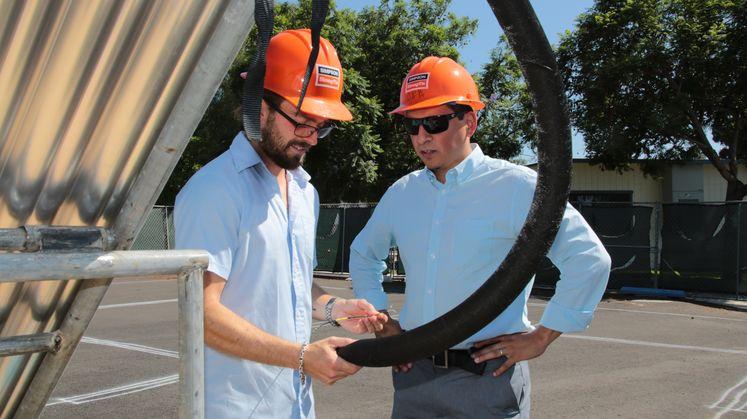 Solar Decathlon's Team Orange County Gets Expert Advice From SCE Mentors