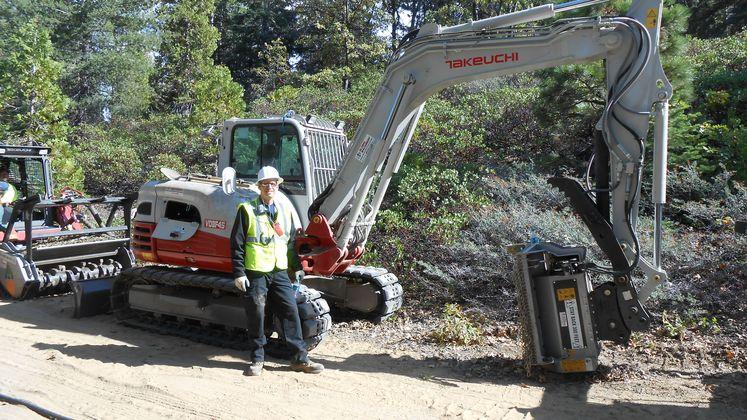 Shaver Lake biomass