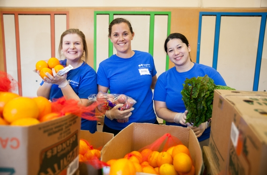 Week of Service with Oregon Food Bank