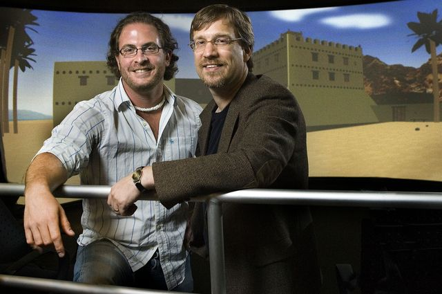 UCLA researchers Robert R. Cargill and William M. Schniedewind have built the first virtual model of Qumran.