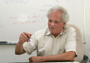 Michael Ghil, UCLA distinguished professor of climate dynamics and geosciences