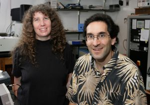 Sarah Tolbert and Benjamin J. Schwartz, UCLA professors of chemistry and California NanoSystems Institute members