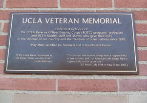 UCLA Veteran Plaque 001