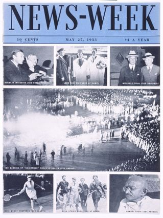 Cover of News-Week magazine