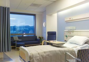 New UCLA hospital rooms promote healing: download hi-res photo