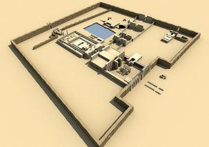 Digital Karnak: Aerial view
