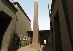 Digital Karnak: Queen Hatshepsut's obelisk