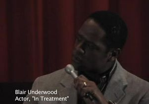 Blair Underwood on his 'In Treatment' character