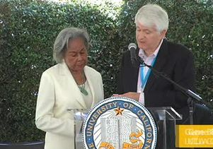 Rachel Robinson receives UCLA's highest honor