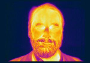 Infrared image of Edward L. (Ned) Wright