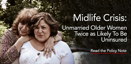 Midlife crisis: Unmarried older women twice as likely to lack health