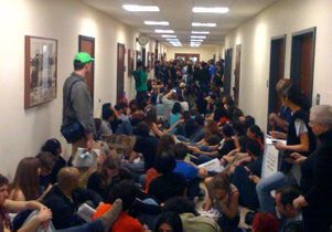 Murphy Hall sit-in