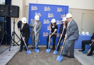 Pauley Pavilion groundbreaking