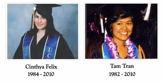 Cinthya Felix Perez and Tam Tran (graduation)